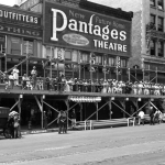 Pantages Entrance Construction 1920